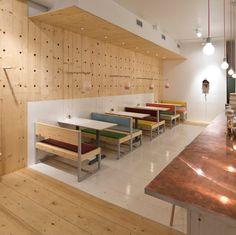 bestie currywurst restaurant by scott and scott architects - designboom | architecture