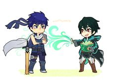 Ike is not impressed. Ike is not Chrom