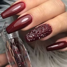 Oxblood Nails - Nailpro