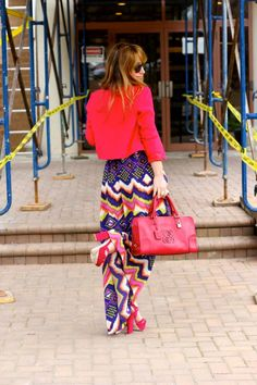 Pink & a touch of Neon:)