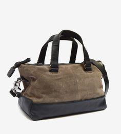 Seria Suede Leather Tote Bag by mo&co. bags on Scoutmob Shoppe