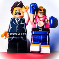 The fight of the century and the $180000 golden ticket to watch. #lego #floydmayweather #lasvegas #boxing #lego #minifigures