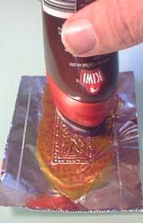 """DIY foil doors... This site has several tips and tricks for making miniature """"everything"""""""