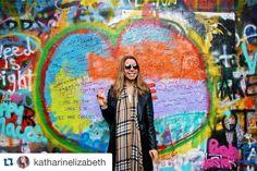 "#Repost @katharinelizabeth ""Love is a flower you've got to let grow."" - John Lennon  / #vsco #travel #exploremore #prague #studyabroad #iSpyAPI"