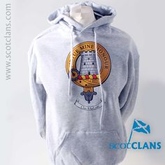 MacLean Clan Crest Sweatshirt. Free worldwide shipping available.