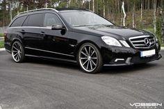 Vossen Wheels - Mercedes Benz E Class - Vossen Mercedes C63 Amg, Merc Benz, Audi Rs5, Benz E Class, Bmw M4, Station Wagon, Custom Cars, Matte Black, Vossen Wheels