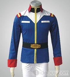 Mens Gundam Seed Jacket Cosplay Costume Items Promotion Sale Online
