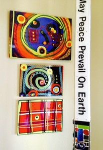 Examples of Susan Fielder Art on Metal - Susan Fielder Art