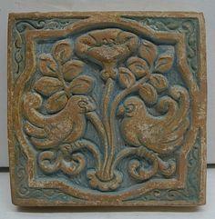 Batchelder Bird Tile