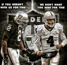 Right!!! Raider Nation stand up!!!