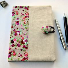 SewforSoul: Fabric Notebook Cover Tutorial