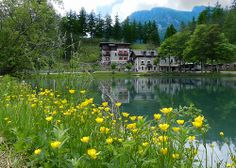 Laux Lake (Lumix FZ150) - Lago del Laux