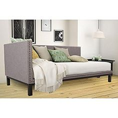 Amazon.com: Mid Century Upholstered Modern Daybed: Kitchen & Dining