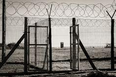 Prison Yard - Image taken on Robben Island Utility Pole, Prison, Africa, Yard, Island, Image, Block Island, Yards, Islands
