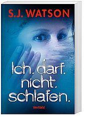 Ich.darf.nicht.schlafen., S.J. Watson, Krimi & Thriller
