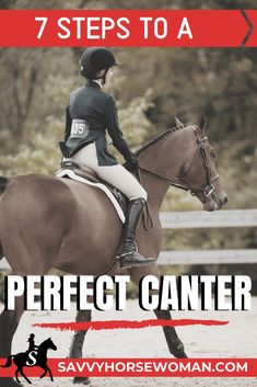 How to Canter a Horse in 7 Simple Steps - Best Equitation Horse Horseback Riding Tips, Horse Riding Tips, Trail Riding, Horse Exercises, Training Exercises, Training Tips, Workouts, Horse Care Tips, Riding Lessons