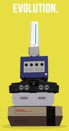 Evolution of video game consoles via www.Edutopia.org