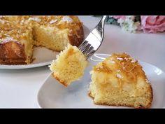 ΚΕΙΚ ΜΕ ΛΕΜΟΝΟ ΚΑΙ ΚΡΕΜΑ ΜΠΛΕ - Τέλεια συνταγή για δοκιμή τώρα! - YouTube Beignets, Corn Starch, French Toast, Muffin, Sweets, Apple, Cream, Breakfast, Lime Crime