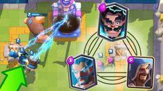 USING THE 3 WIZARDS BATTLE 3 BY I_AM_GROOOT Last Battle, Clash Royale, 3 Things, Wizards, Stay Tuned, Deck, Decor, Decks, Tutorials