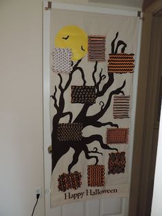 Great  MailRosey Halloween Photo Door Hanging with giveaway One great way to add