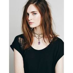 ⬇️Free People Regal Rose Apsis Choker NWB. Brand new in box. Edgy gunmetal chain choker with a statement raw Amethyst crystal shard pendant. Lobster clasp closure. Metal, amethyst. Dimensions: length 15 in = 38 cm. sold out.  trades Free People Jewelry Necklaces