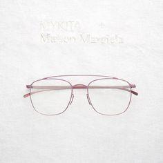 """MYKITA + Maison Margiela """"MMESSE007"""" in Pink"""