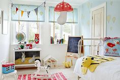 Scandinavian Bedroom Designs for Your Modern Interior.. Such a cute design for a kids room