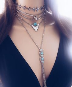 Kit Indigo - Beth Souza Acessórios, bijoux boho, moda boho, boho style,choker, mix de colares, mix de chokers,bijoux finas atacado,colares atacado,