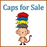 Caps for Sale (printable worksheets) - Would like to read this story and do snack and these activities w/ my daughter's pk class