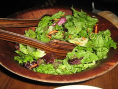 'Ohana Honey Lime Dressing. I'm not even a salad person but this dressing makes any salad worth eating!
