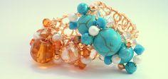 Código: anillo-0003 Anillos de base tejida de oro laminado en diferentes colores ♥ . #rings