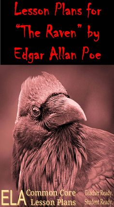 """Hey! It's still National Poetry Month. I'm celebrating with these Lesson Plans for """"The Raven."""""""