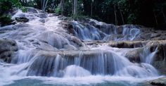 Dunns River Falls, Jamaica.. Chris and I climbed this on our last cruise!!