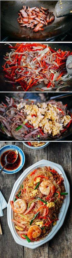Xiamen Mei Fun Noodles recipe