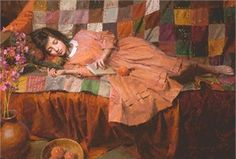 """Morgan Weistling Hand Signed and Numbered Limted Edition Giclée Canvas:""""Patchwork Dreams """""""