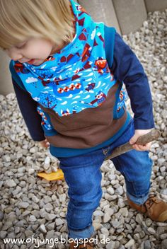Oh, Junge!: Mix and Match Baby Kind, Mix N Match, Sewing Patterns, Hoodies, Cool Stuff, Sweaters, Style, Diy, Ideas
