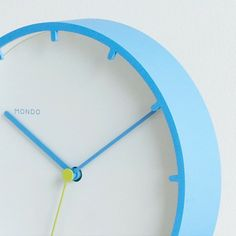 Tick Wall Clock - Blue by MONDO | MONOQI