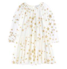Robe Star Tulle Blanche Stella McCartney Kids - 😍Découvrir ici - #Melijoe #robe #robeFille #StellaMcCartneyKids #Tendances #modeenfants #vetementsfille #modefille #robeStellaMcCartneyKids Stella Mccartney Kids, Kenzo Kid, Kids Robes, Designer Dresses For Kids, Jacadi, Tulle Fabric, Star Print, Tulle Dress, Hoodie Sweatshirts