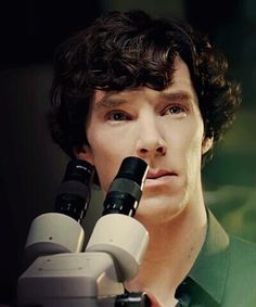 Sherlock, Benedict. The hair. The eyes. The face. Just, you know, EVERYTHING.