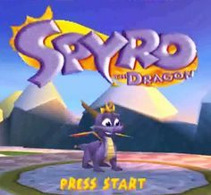 i remember THIS Spyro!  not the stupid Skylanders they have right now :3