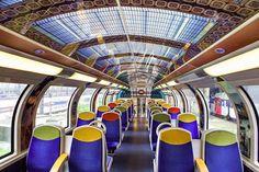 Trens públicos da França são decorados com arte impressionista - Casa Vogue | Arte