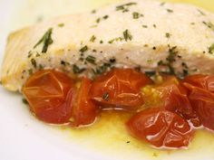 French in a Flash: Salmon with Summer Tomatoes and Rosemary en ...