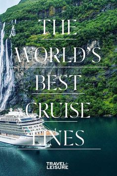 The world's greatest cruise lines  —  as voted by Travel+Leisure readers. Vacation Travel, Cruise Vacation, Solo Travel, Vacations, Top Cruise Lines, Family Friendly Cruises, Montego Bay Resorts, Ocean Cruise, Best Honeymoon