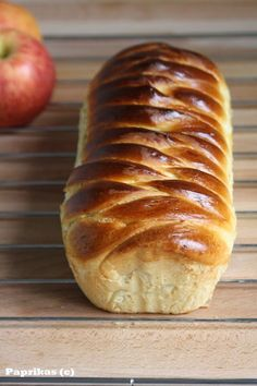 #Brioche farcie à la pomme et à la cannelle