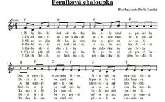 pernikova chaloupka Sheet Music, Songs, Carnavals, Song Books, Music Sheets