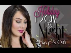 Day to Night Holiday Makeup & Outfit {Video Tutorial} by Marlena - Makeupgeek.com