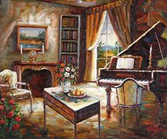 piano painting - Google Search