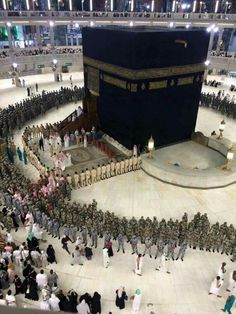 Subahanallah. . When the king enters the # kabah # Mecca