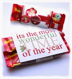 Small Chocolate Christmas gifts by Dt Ann-Katrin for anma.no