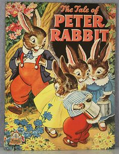 Peter Rabbit such adorable illustrations